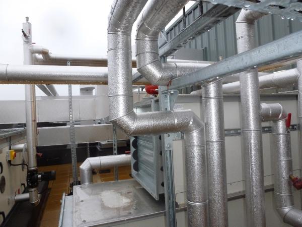 Aluminium Pipe Cladding, Insulation Cladding, Fabrication